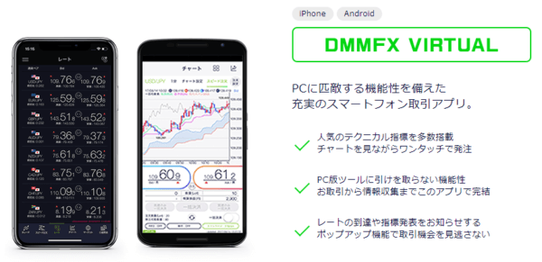 DMM FX デモ VIRTUAL
