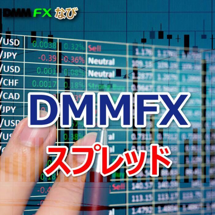 DMMFX スプレッド